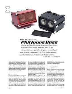 Gitarre & Bass Phil Jones Bass Cub BG-100, Bass-Amp