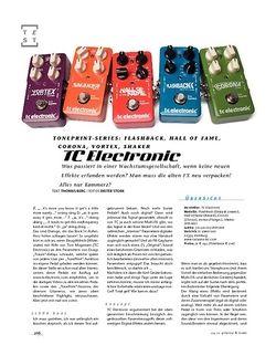 Gitarre & Bass TC Electronic TonePrint-Serie