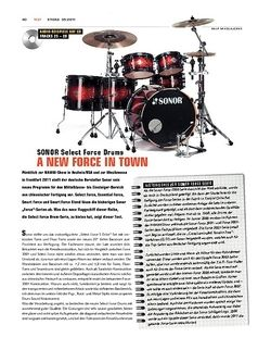 Sticks Sonor Select Force Drums