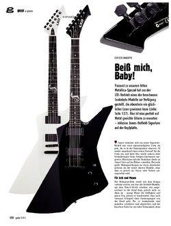 Guitar gear E-Gitarre - ESP/LTD Snakebyte