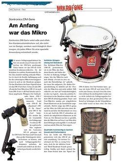 DrumHeads Instrumente & Technik - Test: Sontronics DM-Serie
