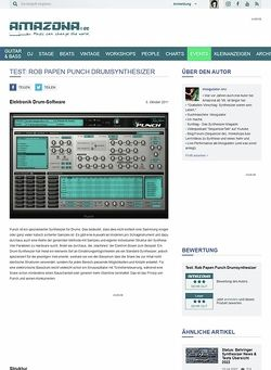 Amazona.de Test: Rob Papen Punch, Drumsynthesizer