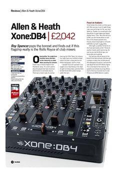 Future Music Allen and Heath Xone:DB4