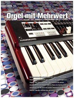 Tastenwelt Test: Hammond SK1 - Orgel mit Mehrwert