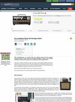 Audiofanzine.com Orange Amps Dark Terror