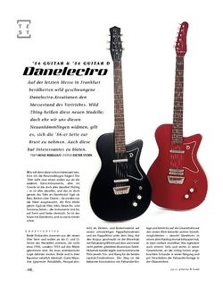 Gitarre & Bass Danelectro '56 Guitar & '56 Guitar D, E-Gitarren