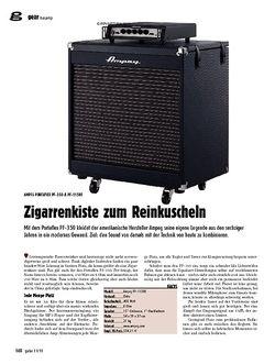 guitar gear Bassamp - Ampeg Portaflex PF-350 & PF-115HE