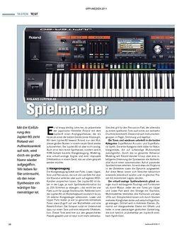 Tastenwelt Test: Roland Jupiter-80 - Spielmacher