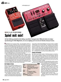 guitar gear Effekte - Boss RC-3 & RC-30 Loop Stations