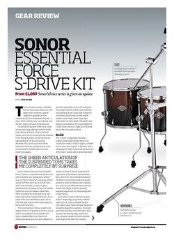 Rhythm SONOR ESSENTIAL FORCE S DRIVE KIT