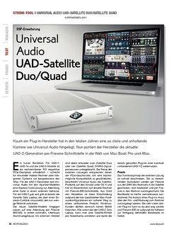 KEYS Universal Audio UAD-Satellite Duo/Quad