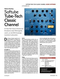 KEYS Softube Tube-Tech Classic Channel