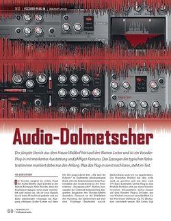 Professional Audio Waldorf Lector