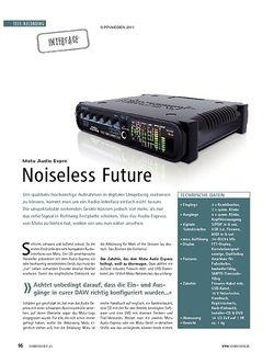 Soundcheck Test Interface: Motu Audio Express