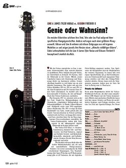 guitar gear E-Gitarre - Line 6 James Tyler Variax vs. Gibson Firebird X