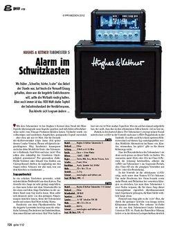 guitar gear Amp - Hughes & Kettner Tubemeister 5