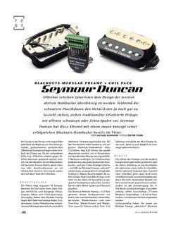 Gitarre & Bass Seymour Duncan Blackouts Modular Preamp + Coil Pack