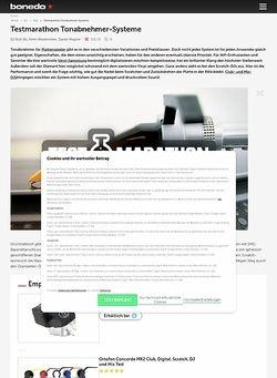 Bonedo.de Testmarathon Tonabnehmer-Systeme