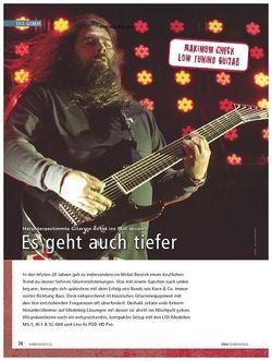 Soundcheck Maximum Check: Low Tuning Guitar