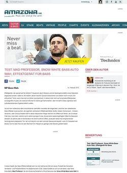 Amazona.de Test: Mad Professor, Snow White Bass Auto Wah, Effektgerät für Bass