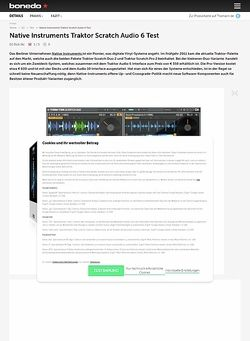 Bonedo.de Native Instruments Traktor Scratch Duo 2/ Audio 6