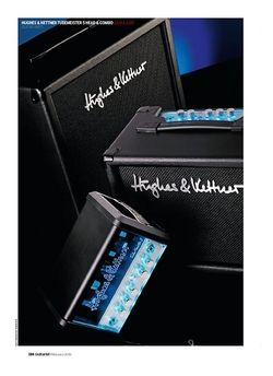 Guitarist Hughes and Kettner TubeMeister 5 Head
