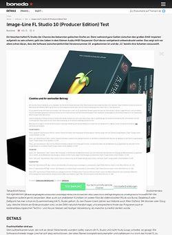 Bonedo.de Image-Line FL Studio 10 (Producer Edition)