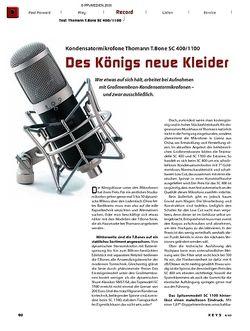 KEYS Thomann T.Bone SC 400 & SC 1100