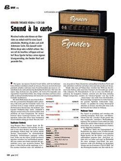 guitar Amp - Egnater Tweaker Head & 112X Cab
