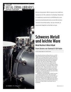 Sound & Recording Metal-Drum-Libraries: Metal Machine & Metal ADpak - Drum-Libraries von Toontrack & XLN Audio
