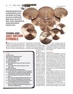 Sticks Istanbul Agop Jazz Edition Cymbals