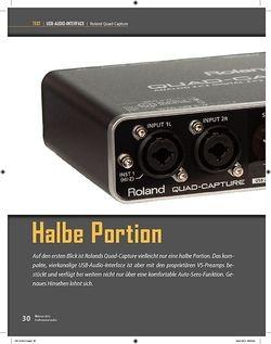 Professional Audio Roland Quad-Capture