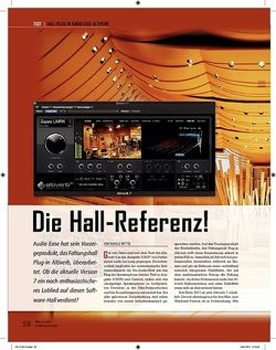Professional Audio Audio Ease Altiverb Die Hall-Referenz!
