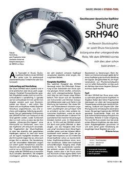KEYS Shure SRH940