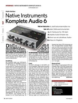 KEYS Native Instruments Komplete Audio 6