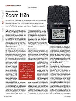 KEYS Zoom H2n
