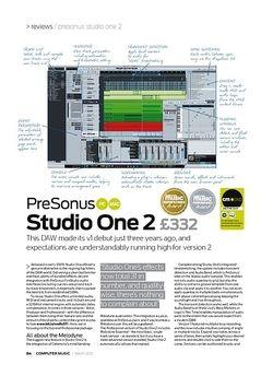 Computer Music PreSonus Studio One 2