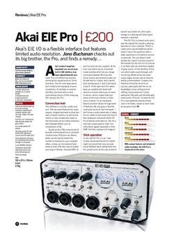 Future Music Akai EIE Pro
