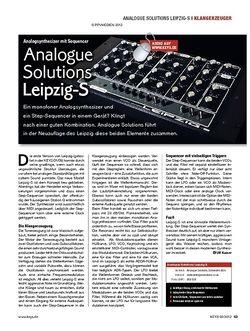 KEYS Analogue Solutions  Leipzig-S