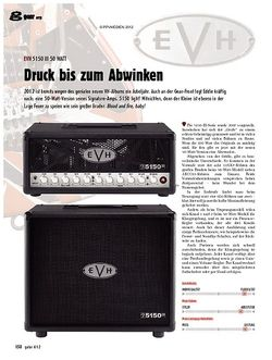 guitar gear Amp - EVH 5150 III 50 Watt