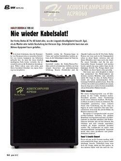 guitar gear Akustikamp - Harley Benton AC Pro 60