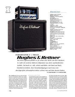 Gitarre & Bass Hughes & Kettner TubeMeister 5 + TM110, Mini-Stack
