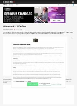 Bonedo.de Millenium KS-3000