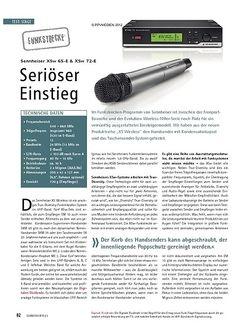 Soundcheck Test Funkstrecke: Sennheiser XSw 65-E & 72-E