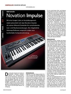KEYS Novation Impulse