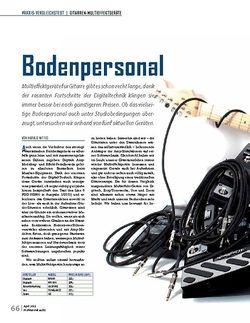 Professional Audio Bodenpersonal