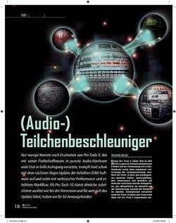 Professional Audio Avid Pro Tools 10