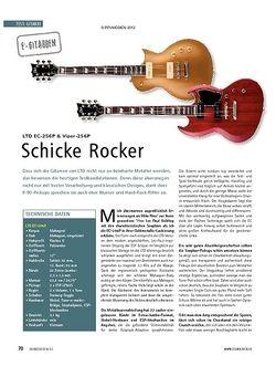 Soundcheck Test E-Gitarren: LTD EC-256P & Viper-256P