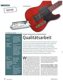 Soundcheck Test Hardware: Schaller Hannes Piezo & Flagship Preamp