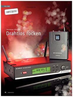 Soundcheck Test Funkstrecke: Sennheiser XSw 72-E
